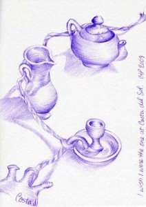 pottery sketch