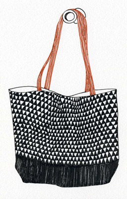 bookhou triangle bag